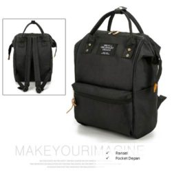 B921 MATERIAL CANVAS SIZE L25XH36XW17CM WEIGHT 750GR COLOR BLACK