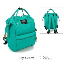 B921 MATERIAL CANVAS SIZE L25XH36XW17CM WEIGHT 750GR COLOR GREEN