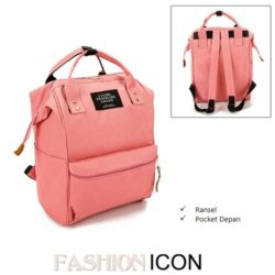B921 MATERIAL CANVAS SIZE L25XH36XW17CM WEIGHT 750GR COLOR PINK