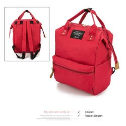 B921 MATERIAL CANVAS SIZE L25XH36XW17CM WEIGHT 750GR COLOR RED