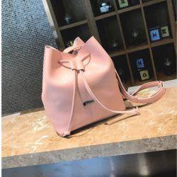 BL0013-pink Tas Serut Import Wanita Cantik