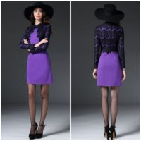 D48521 IDR.235.000 MATERIAL COTTON-SIZE-M-LENGTH88CM-BUST88CM WEIGHT 500GR COLOR PURPLE