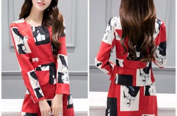 LS69923 IDR.152.000 MATERIAL COTTON-POLYESTER-SIZE-M,L-TOP51,52CM-PANT41,43CM-BUST84,88CM-WAIST68,72CM WEIGHT 500GR COLOR RED