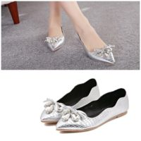 SH2092 IDR.195.000 MATERIAL PU COLOR SILVER SIZE 36