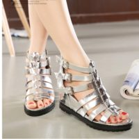 SH36810 IDR.215.000 MATERIAL PU-HEEL-5CM COLOR SILVER SIZE 36