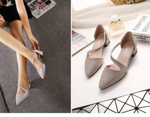 SH51253 IDR.205.000 MATERIAL PU-HEEL-4.5CM COLOR GOLD SIZE 35