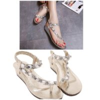 SH6601 IDR.215.000 MATERIAL PU-HEEL-4CM COLOR SILVER SIZE 35