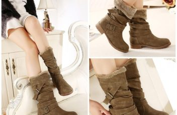 SHB10076 IDR.246.000 MATERIAL PU-LEATHER HEEL 2CM COLOR KHAKI SIZE 36,37,38,39