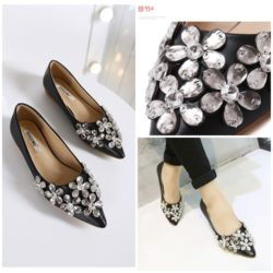 SHF003 MATERIAL PU COLOR BLACK SIZE 35