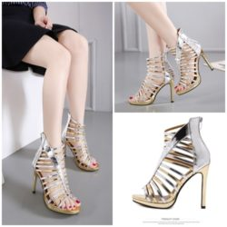SHH0012 IDR.232.000 MATERIAL PU COLOR GOLD HEEL 11.5CM SIZE 35,36,37,38,39,40