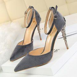 Rp 160.000 Pilih Ukuran · SHH2833-gray Sepatu Heels Lace Elegan Wanita 9.5CM a6702f038a