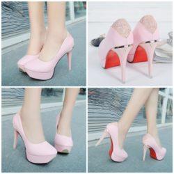 Rp 191.000 Pilih Ukuran · SHH698-pink Sepatu Heels Pump Cantik 10CM a0b4f0db46