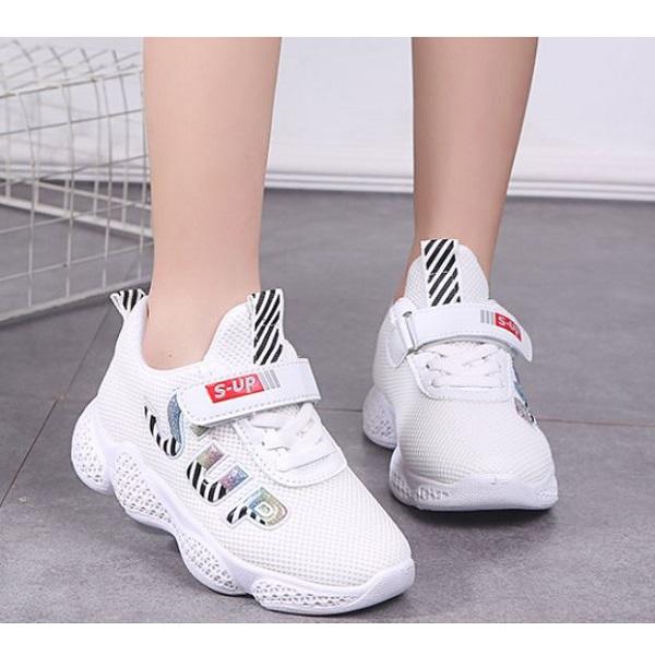 7b371fe8 SHK18-white Sepatu Sneakers Anak Unisex Terbaru