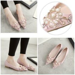 SHS183 MATERIAL PU COLOR PINK SIZE 35