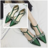 SHS1891 MATERIAL PU GREEN SIZE 35