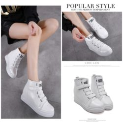SHS203  MATERIAL PU COLOR WHITE SIZE 36