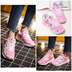 SHS394 KTW MATERIAL CANVAS COLOR PINK SIZE 36