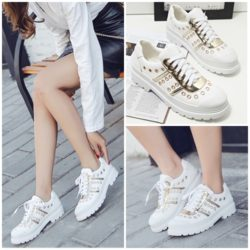 SHS66833 MATERIAL PU COLOR WHITE SIZE 35