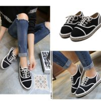 SHS7521 MATERIAL LEATHER COLOR BLACK SIZE 36