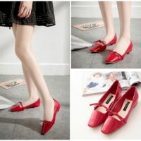 SHS82881 MATERIAL PU COLOR RED SIZE 36