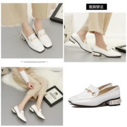 SHS83662 IDR.232.000 MATERIAL PU COLOR WHITE HEEL 4CM SIZE 35,36,37,38,39