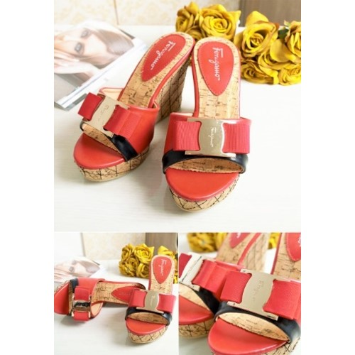 SHW0019 MATERIAL PU HEEL 10.5CM COLOR RED SIZE 35