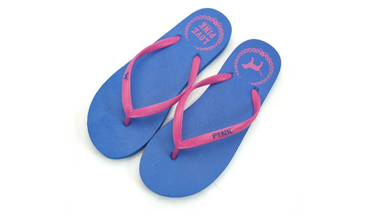 SP006BIRU Sandal Jepit Cantik