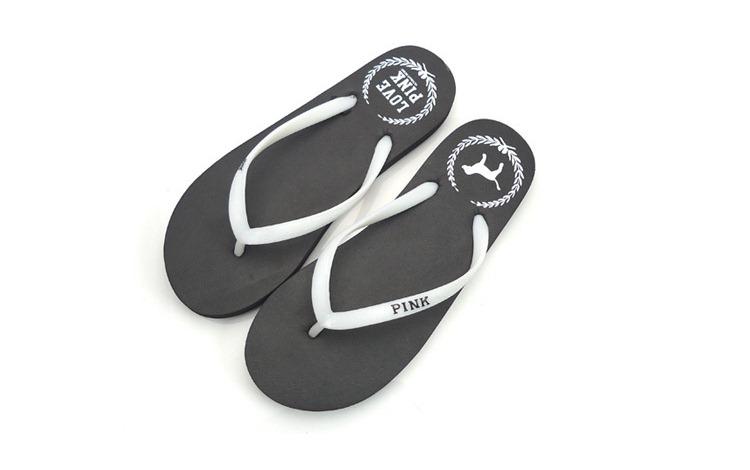 SP007#HITAM Sandal Jepit Fashion - GrosirImpor.com