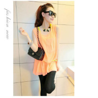 T3842-IDR-11O-OOO-MATERIAL-COTTONCHIFFON-LENGTH-INNER-64CM-OUTER-76CM-BUST-96CM-WITH-BELT-WEIGHT-230GR-COLOR-ORANGE.jpg