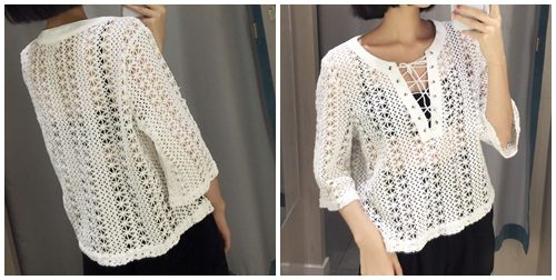 T56962 IDR.127.000 MATERIAL KNITTED LENGTH52CM