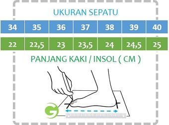 Paduan Ukuran Sepatu GrosirImpor.com