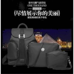 B1861 MATERIAL CANVAS SIZE L28XH31XW17CM WEIGHT 800GR COLOR BLACK
